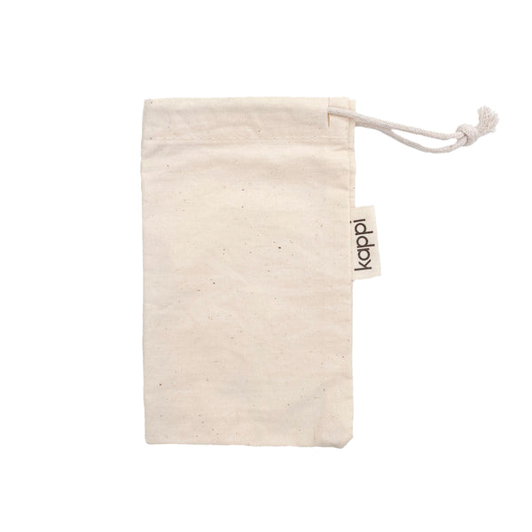 shop ethical sustainable & ethical clothing by Kappi Razor Storage Pouch - Organic Cotton