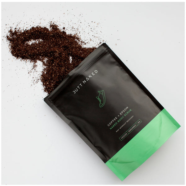 shop ethical sustainable & ethical clothing by BUTT NAKED SKINFOOD Coffee + Epsom Body Scrub 250g