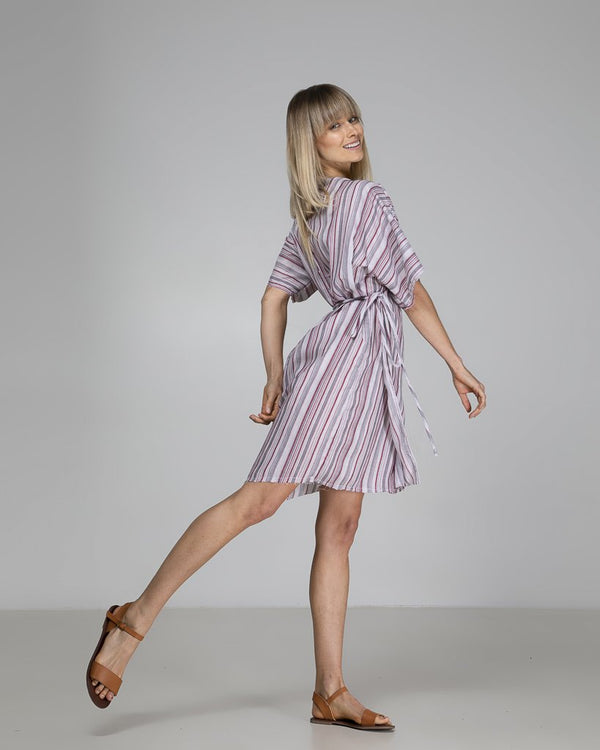 shop ethical sustainable & ethical clothing by Indecisive the label Limited Edition Rylee Wrap Dress