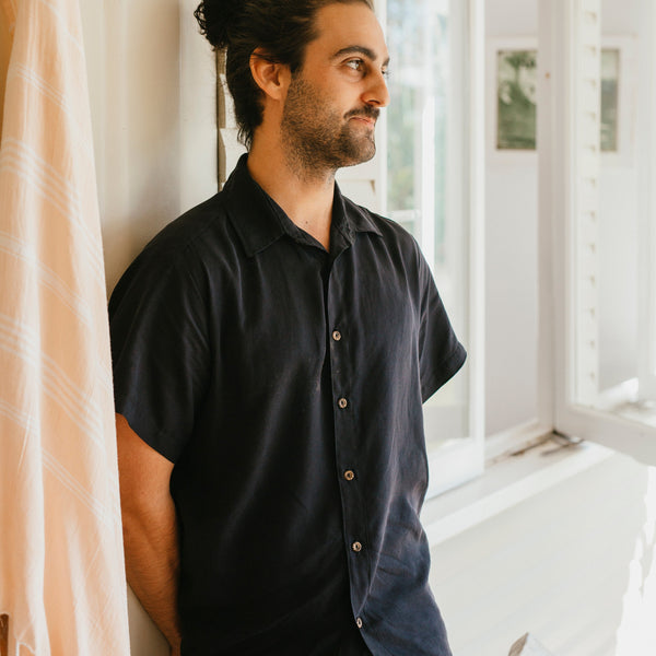 shop ethical sustainable & ethical clothing by Tasi Travels Short Sleeve Voyager Shirt