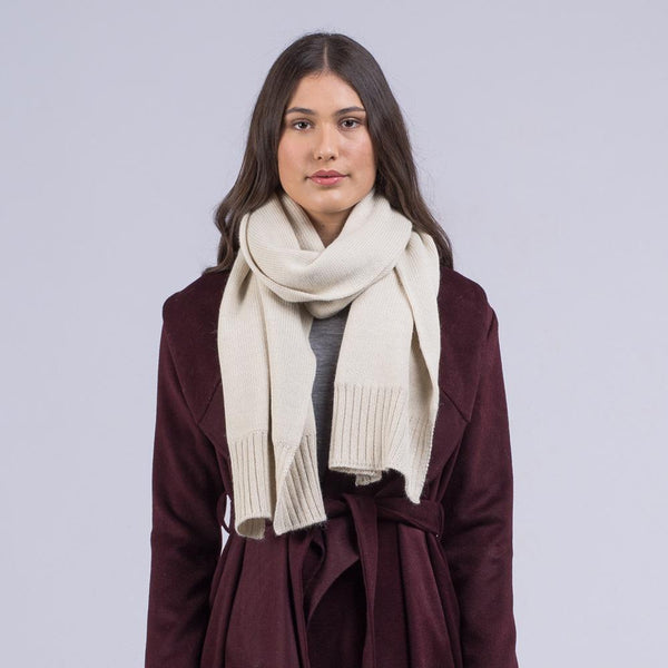 shop ethical sustainable & ethical clothing by Avila the label Luxe alpaca scarf