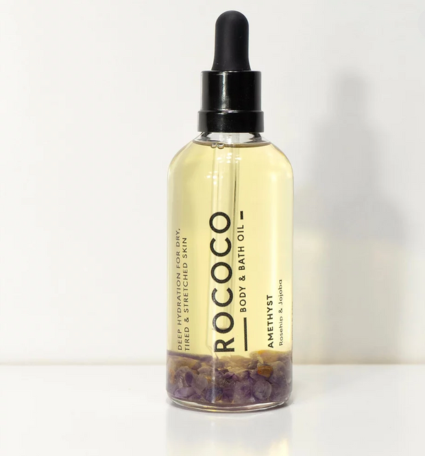 shop ethical sustainable & ethical clothing by ROCOCO BODY OIL Amethyst Rococo Body Oil 100ml