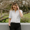 shop ethical sustainable & ethical clothing by Avila the label Chill out short sleeve shirt