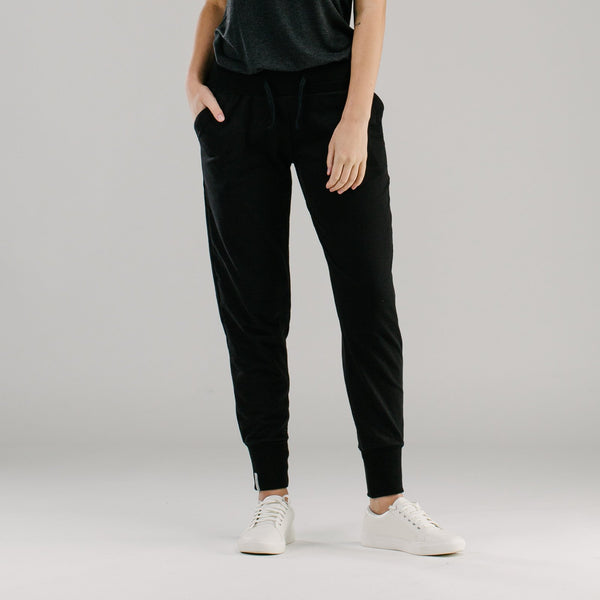 shop ethical sustainable & ethical clothing by AVILA Active living slouch pants