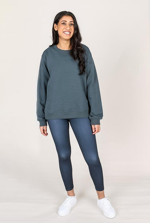 shop ethical sustainable & ethical clothing by TEAM TIMBUKTU gumnut organic cotton crew jumper