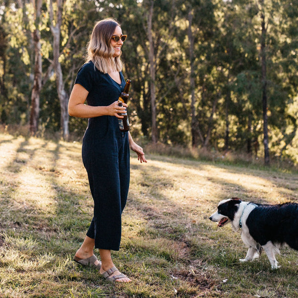 shop ethical sustainable & ethical clothing by Tasi Travels Vagabond Jumpsuit