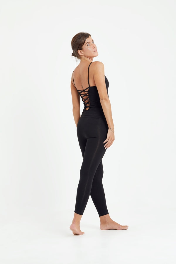 shop ethical sustainable & ethical clothing by Luna & Soul Active Vinyasa Jumpsuit