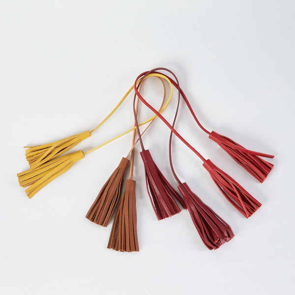 shop ethical sustainable & ethical clothing by Minima Handcrafted Wrap Tassel