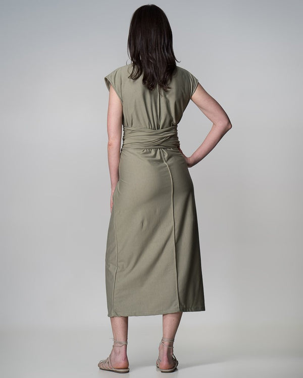shop ethical sustainable & ethical clothing by Indecisive the label Limited Edition Xavier Dress
