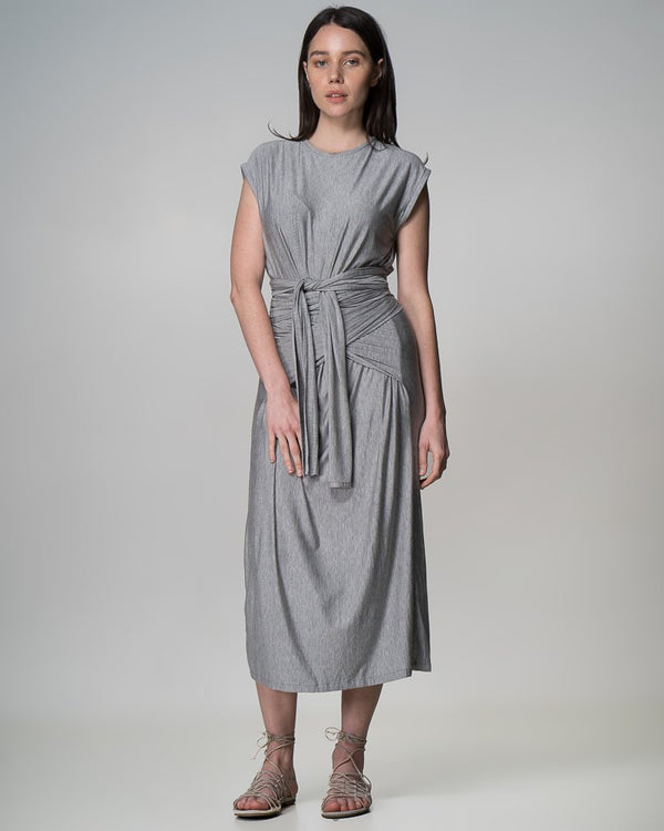 shop ethical sustainable & ethical clothing by INDECISIVE THE LABEL Organic Bamboo Xavier Dress