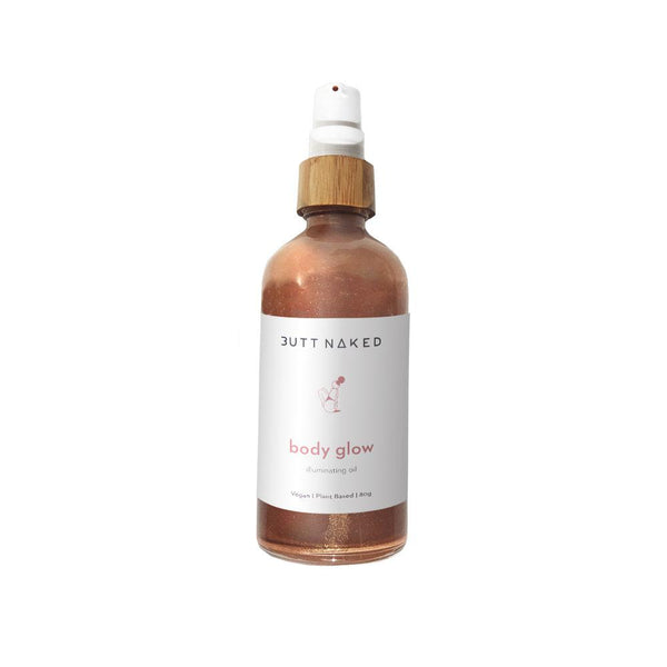 shop ethical sustainable & ethical clothing by Butt Naked Skinfood Body Glow Illuminating Oil
