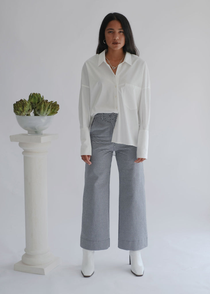 The Tuesday High Kick: Kick Flare High Waisted Trousers