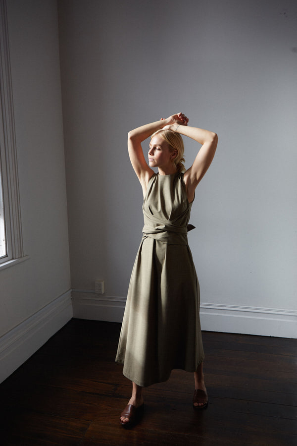 shop ethical sustainable & ethical clothing by Mina Hellesey Dress