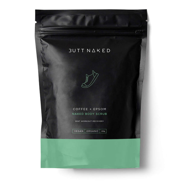 shop ethical sustainable & ethical clothing by BUTT NAKED SKINFOOD Coffee + Epsom Body Scrub