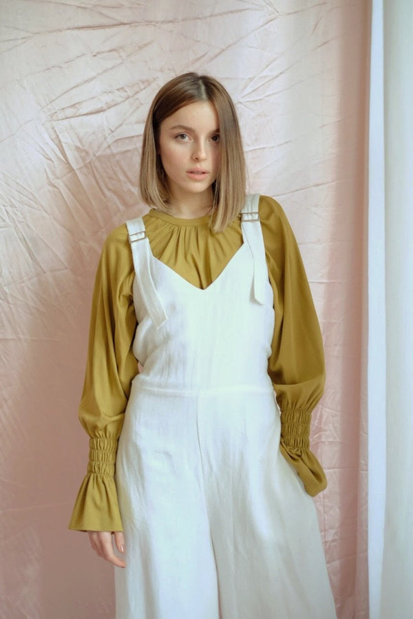 shop ethical sustainable & ethical clothing by OH SEVEN DAYS Friday Belted Jumpsuit