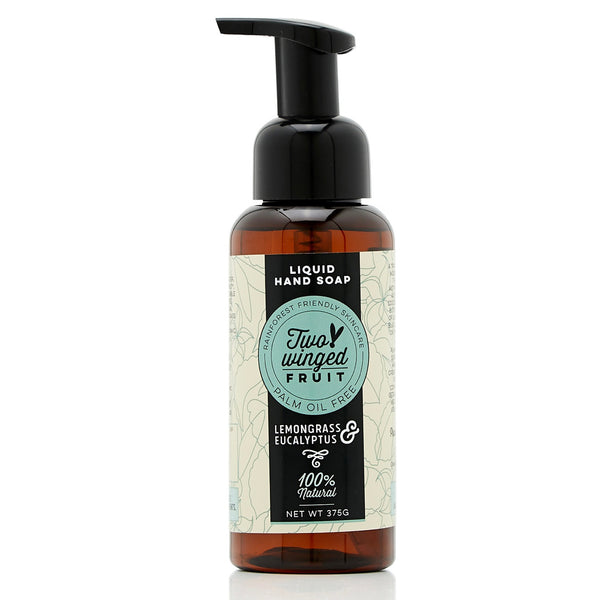 shop ethical sustainable & ethical clothing by TWO WINGED FRUIT Lemongrass & Eucalyptus Liquid Hand Soap
