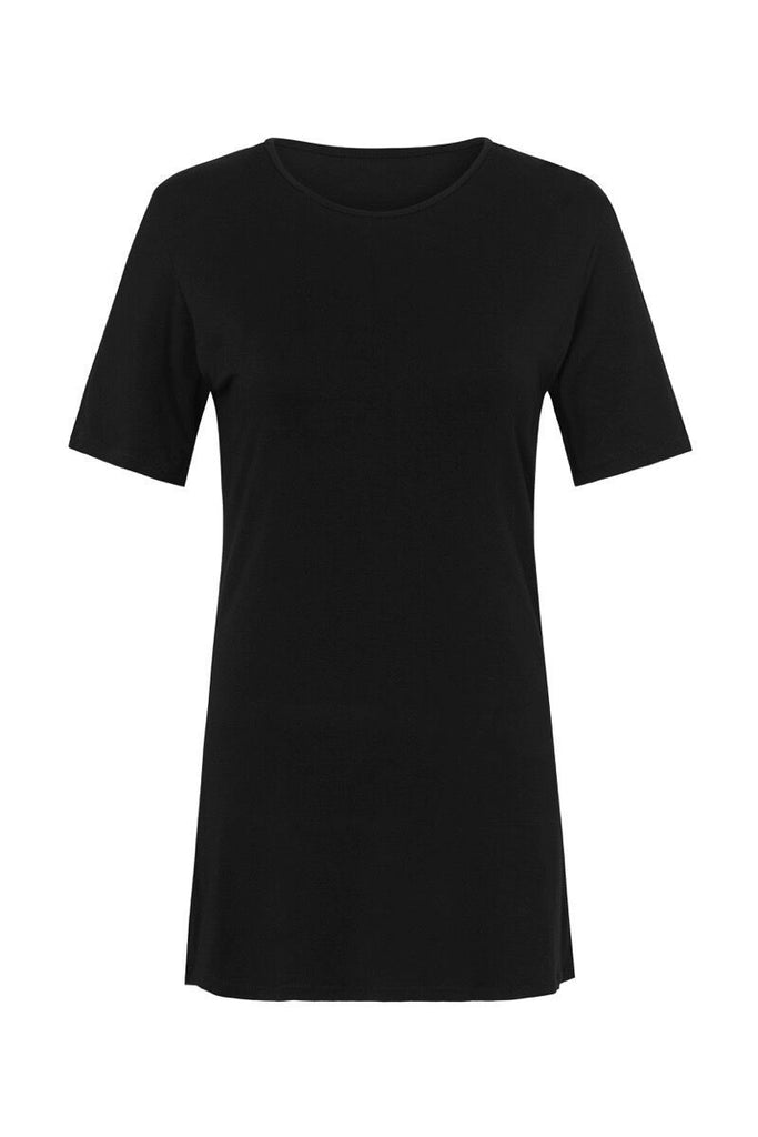 shop ethical sustainable & ethical clothing by CEDAR & ONYX Where Have You Been... Bamboo T-shirt (Onyx)