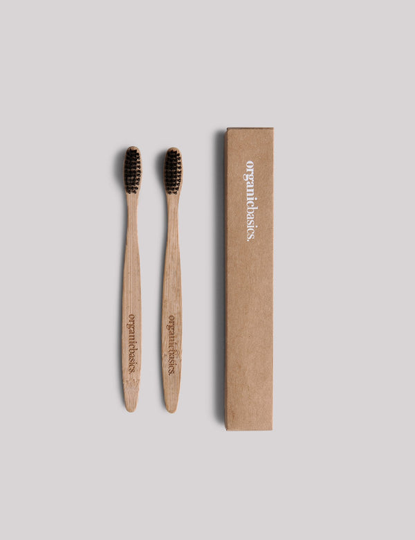 shop ethical sustainable & ethical clothing by ORGANIC BASICS Toothbrush 2-pack