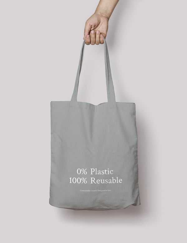 shop ethical sustainable & ethical clothing by ORGANIC BASICS Tote Bag
