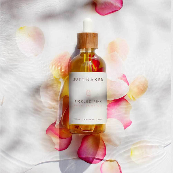 shop ethical sustainable & ethical clothing by Butt Naked Skinfood Rose Body Oil
