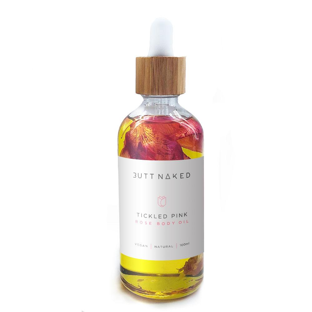 Tickled Pink Rose Body Oil