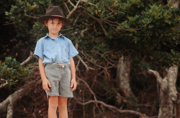 shop ethical sustainable & ethical clothing by fallenBROKENstreet The Cove - KIDS - CHOCOLATE