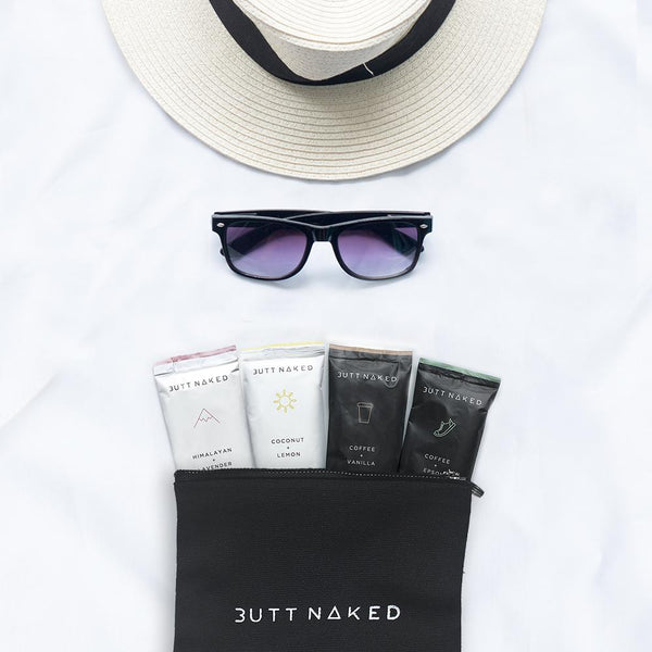 shop ethical sustainable & ethical clothing by Butt Naked Skinfood Travel Naked Pack