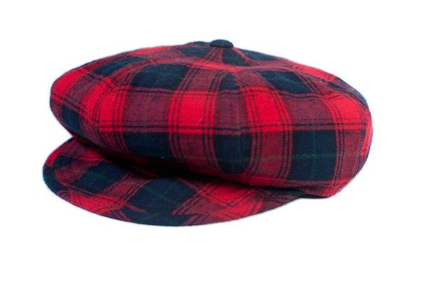 The Oliver - Red Tartan