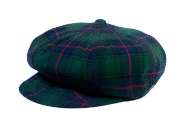 The Oliver - Green Tartan
