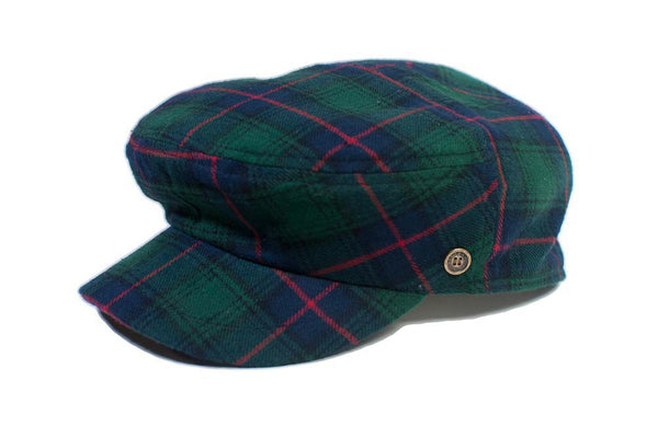 The Twist - Green Tartan