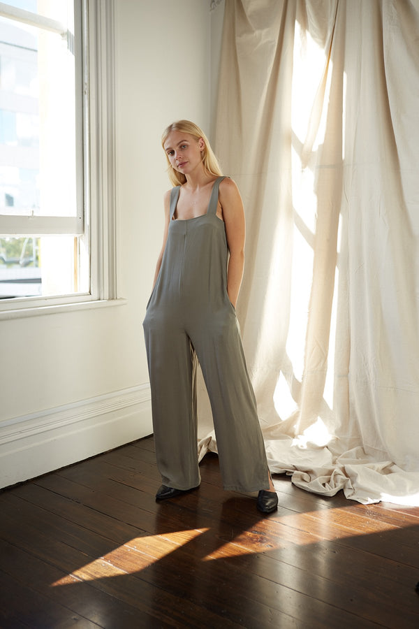shop ethical sustainable & ethical clothing by Mina Eli Jumpsuit
