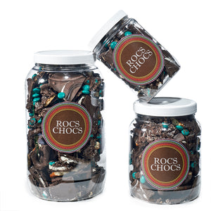 Rocs Chocs Dark Chocolate Jugs