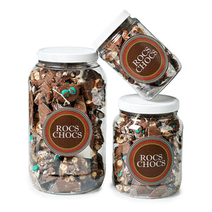 Rocs Chocs Milk Chocolate Jugs