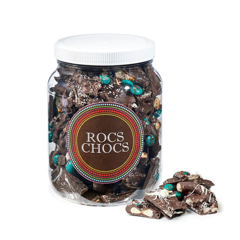 Rocs Chocs Dark Chocolate Jug, 2lb.