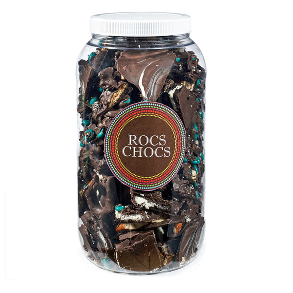 Assorted Milk and Dark Chocolate ROCS, 4 lb. Party Size