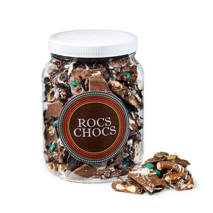 Rocs Chocs Milk Chocolate Jug, 2 lb.