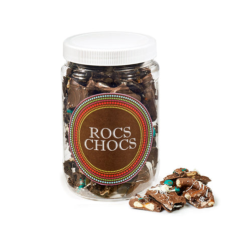 Rocs Chocs Milk Chocolate Jug, 1lb.
