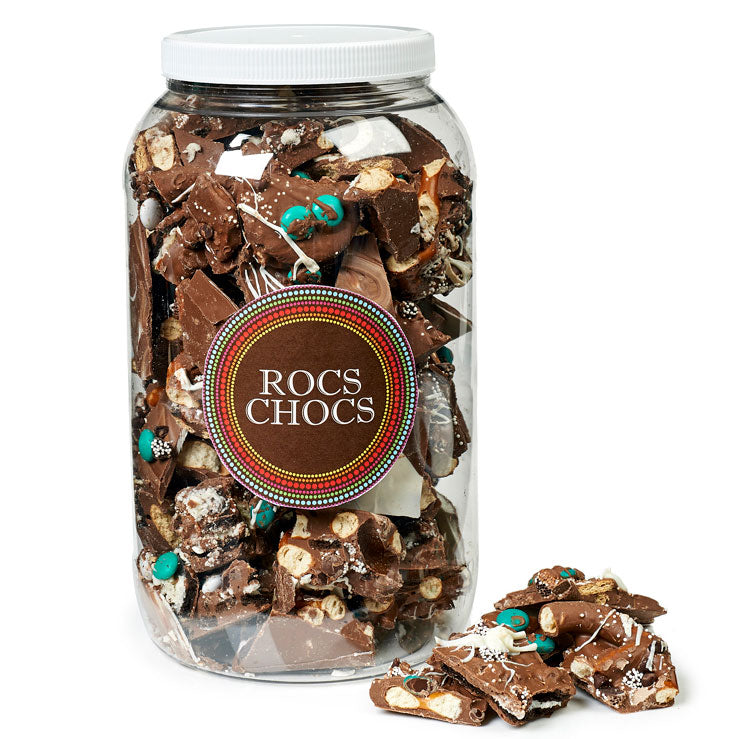 Milk Chocolate ROCS, 4 lb. Party Size
