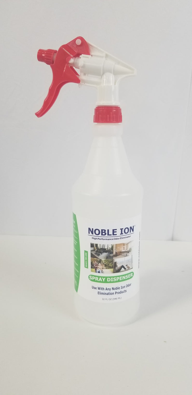 Noble Ion® Spray EMPTY Dispenser Bottle - 32 oz. - TEST KIT