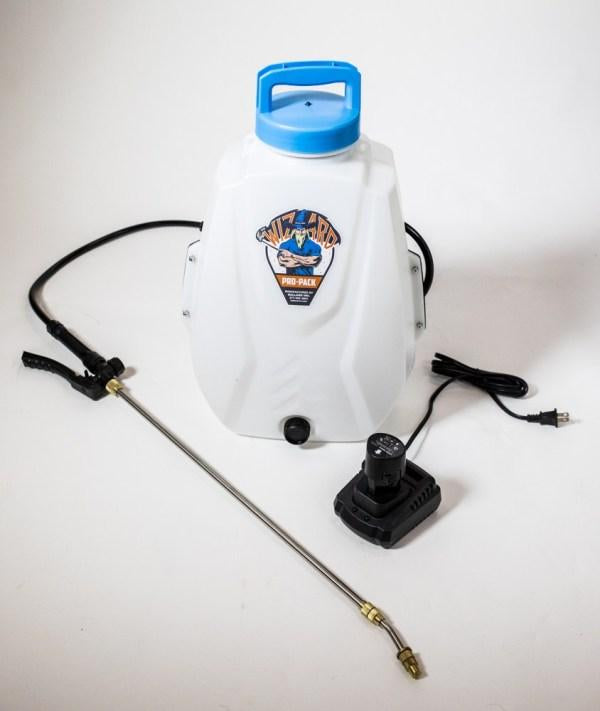Noble Ion® Backpack Sprayer - Lithium Battery - 4 Gallon