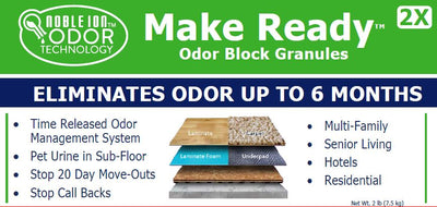 Noble Ion® Make Ready Odor Block Granules - 7 lb - CONTRACT ONLY