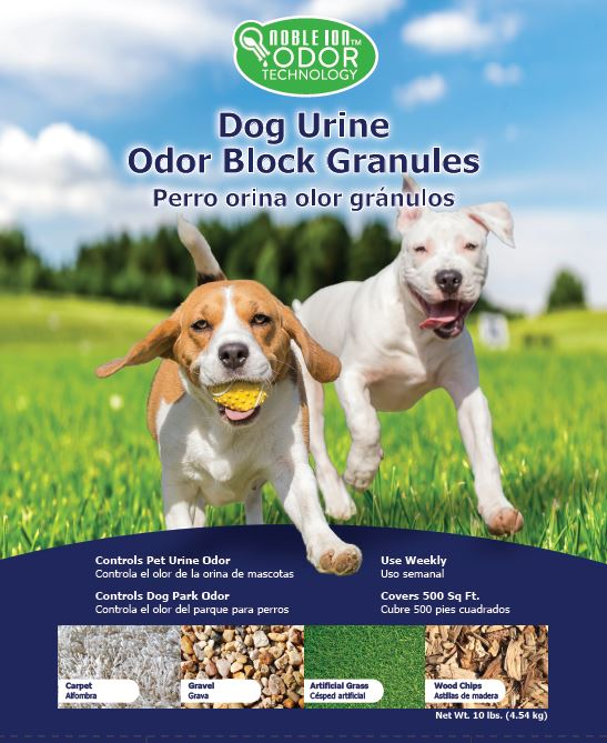 Noble Ion® Dog Park Odor Block Granules - 10 lb Bag - TEST KIT