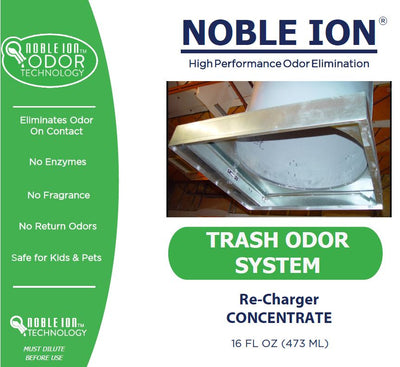 Noble Ion® Trash Chutes Re-Charger (Case Lots of 12/16 oz) - CONTRACT ONLY