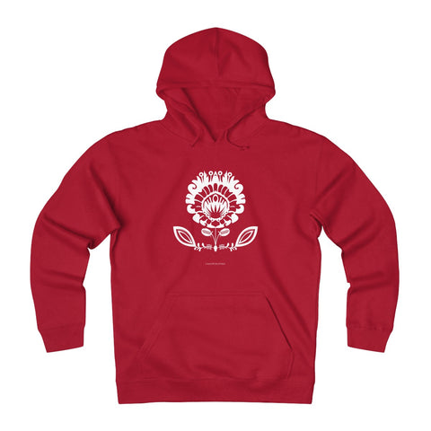 Lowicz Papercut Fleece Hoodie - I AM POLONIA Polish heritage