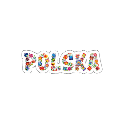 Folk Polska Sticker - I AM POLONIA Polish heritage