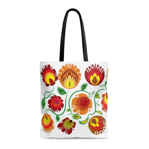 Lowicz Fall Colors Tote Bag - I AM POLONIA Polish heritage