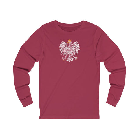 White Eagle vintage Unisex Jersey Long Sleeve Tee