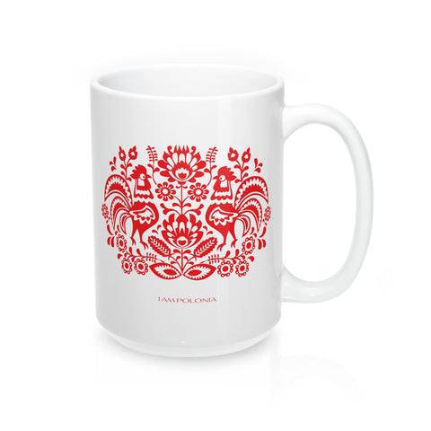 Polish Folk Mug - I AM POLONIA Polish heritage
