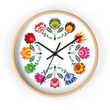 Lowicz Wall Clock - I AM POLONIA Polish heritage