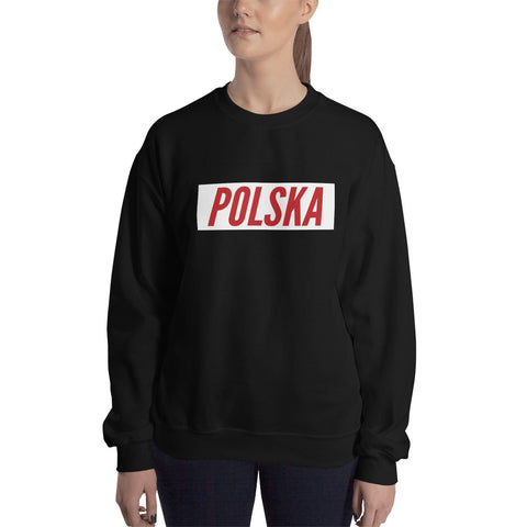Polska Dark Sweatshirt - I AM POLONIA Polish heritage